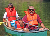 Canoeing at Ashuelot River Campground
