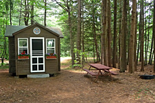 Chateau Hemlock Exterior at Ashuelot River Campground