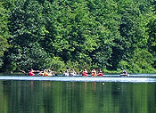 Kayakers at Ashuelot River Campground