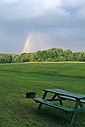 Rainbow at Ashuelot River Campground