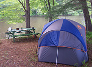 Tentsite at Ashuelot River Campground