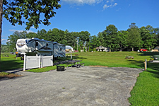 Accessible RV Site at Ashuelot River Campground