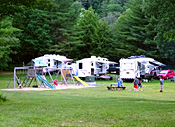 Campsites at Ashuelot River Campground