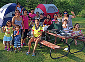 Family Gathering at Ashuelot River Campground