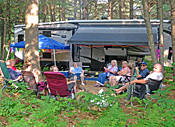 Seasonal Campers at Ashuelot River Campground